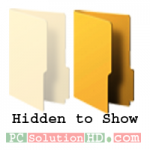 Show Hidden Folders Using Attribute Command (CMD)