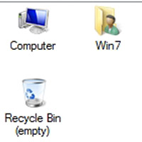 Hide Recycle Bin Hide Computer from desktop PCsolutionHD.com