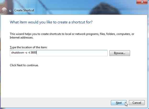 Shutdown Shortcut by PCsolutionHD.com