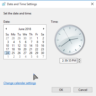 Date and Time Settings by Salehin Sohag (PCsolutionH.com)