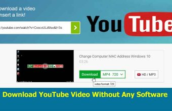 Download YouTube video without any Software