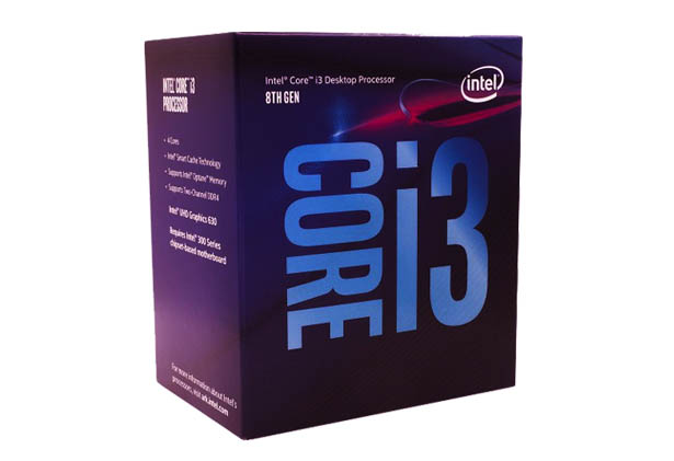 Intel Core i3-8100 Processor PCsolutionHD.com