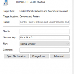 Launch programs using own hotkeys Windows 10