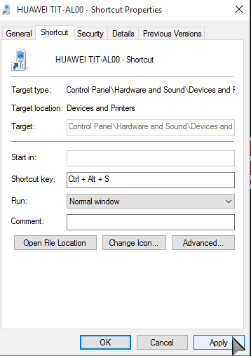 Launch programs using own hotkeys on-Windows 10 PCsolutionHD.com