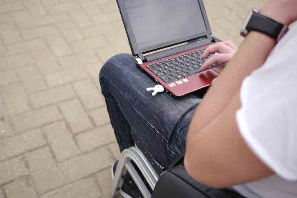 Notebook on boy lap PCsolutionHD.com