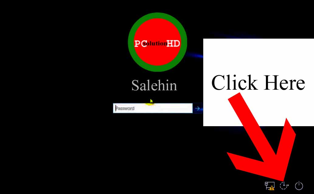 Reset administrator password of Windows 10 PCsolutionHD.com by Salehin