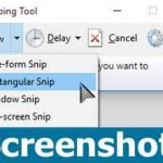 How to take screenshot in Windows 10