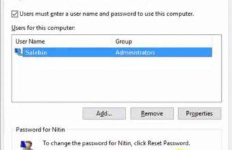 Reset Windows 10 Administrator Password using Command Prompt