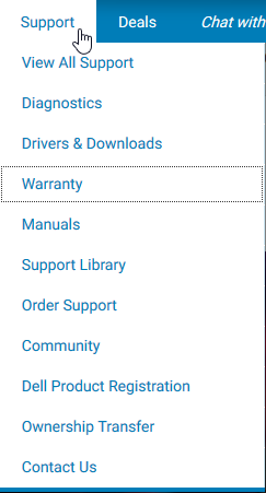 Dell Support Warranty Check