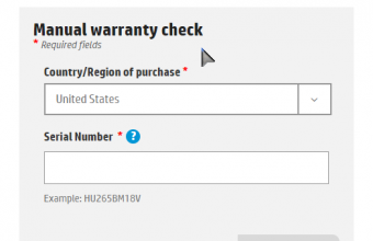 HP Product Warranty Check Online
