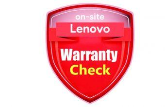 Warranty lookup Lenovo
