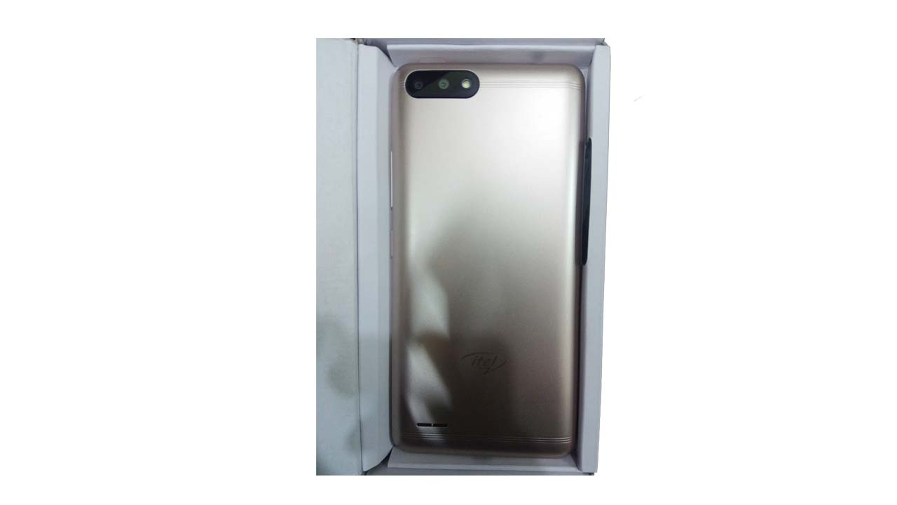 iTel A52 Smartphone BackSide PCsolutionHD.com