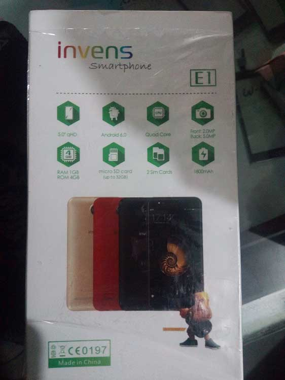 invens E1 full specification