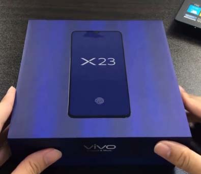 X23 smartphone of Vivo