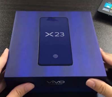 X23 smartphone of Vivo