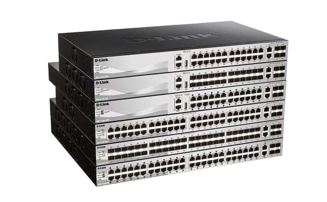 DGS3130 Series Lite Layer 3 Stackable Managed Switches