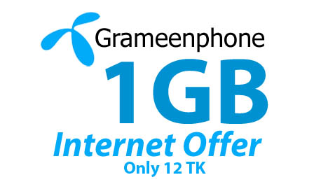 Gp 12Tk 1GB Internet Offer