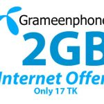 GrameenPhone 2GB 17TK Internet Offer | GP 17TK 2GB Internet Offer