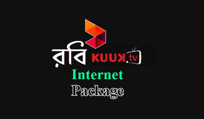 Robi Kuuk TV Internet Package