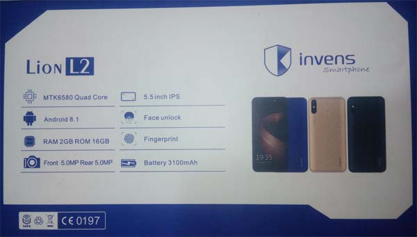 Invens Lion L2 Picture Photo