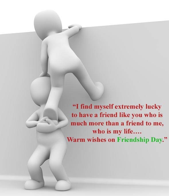 happy friendship day Warm wishes on Friendship Day