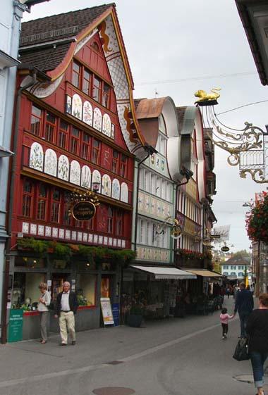 Switzerland Beautiful Street