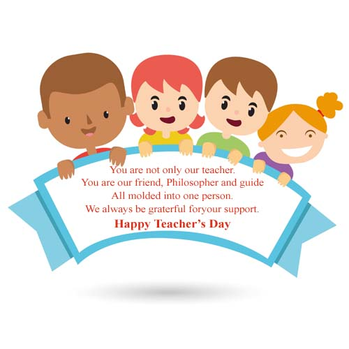 You are not only our teacher (teacher day image photo)