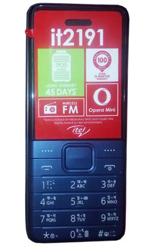 iTel it2191 Button Phone Image