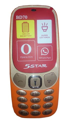 5Star BD70 Button Phone Image
