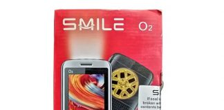 SMILE O2 feature phone