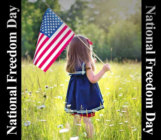 National Freedom Day 2021