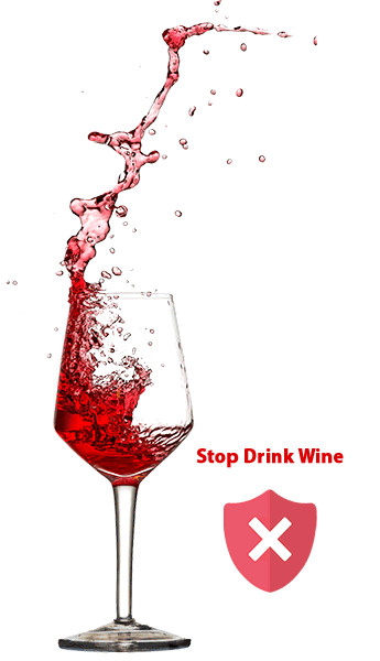 Stop Drink Wine