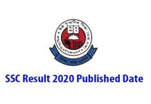 SSC Result 2020 Published Date
