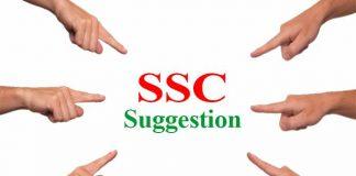 SSC Suggestion 2021